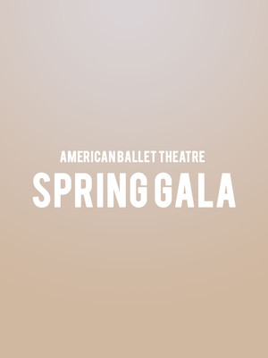 American Ballet Theatre - Spring Gala Poster