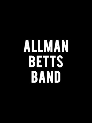 Allman Betts Band at Manship Theatre