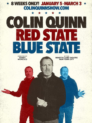Red State Blue State, Minetta Lane Theater, New York