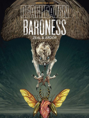 Deafheaven and Baroness Poster