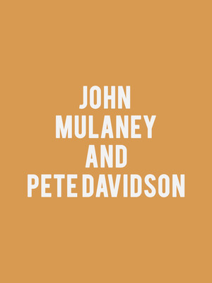 John Mulaney and Pete Davidson Poster