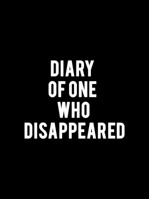 Diary of One Who Disappeared Poster