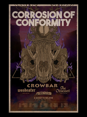 Corrosion of Conformity at Saint Andrews Hall