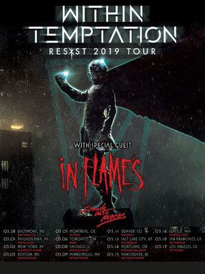 Within Temptation and In Flames Poster