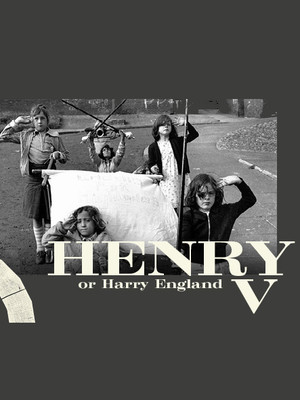 Henry V or Harry England Poster