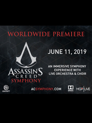 Assassin's Creed Symphony - World Premiere Poster