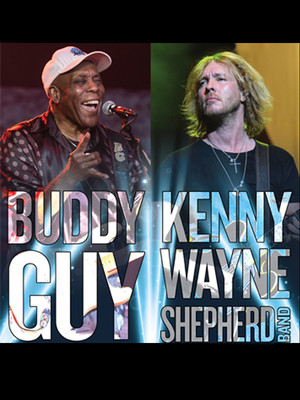 Buddy Guy and Kenny Wayne Shepherd Band Poster