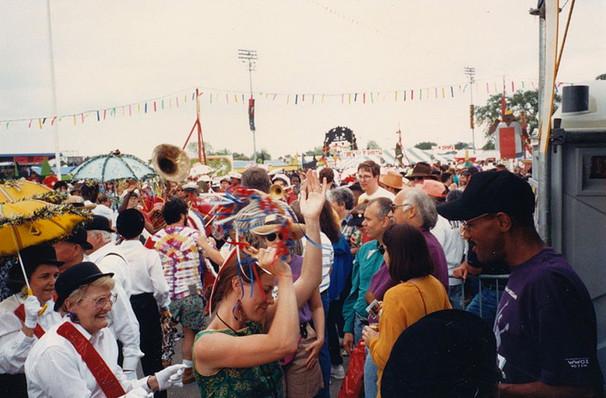New Orleans Jazz Festival, New Orleans Fairgrounds, New Orleans