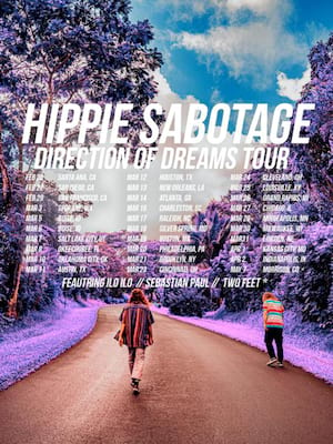 Hippie Sabotage at Bogarts