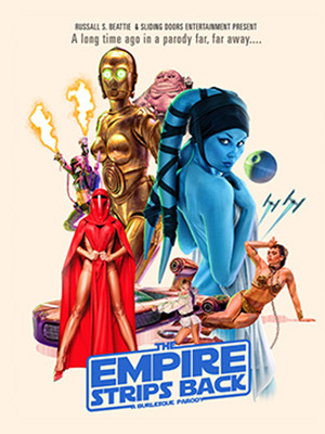 The Empire Strips Back Poster