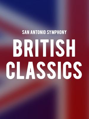 San Antonio Symphony - British Classics Poster