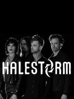 Halestorm at Toyota Center