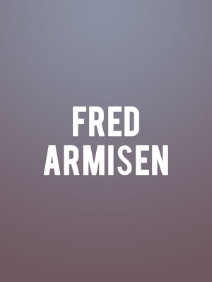 Fred Armisen at Danforth Music Hall