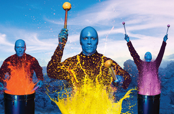 Blue Man Group, Robinson Center Performance Hall, Little Rock