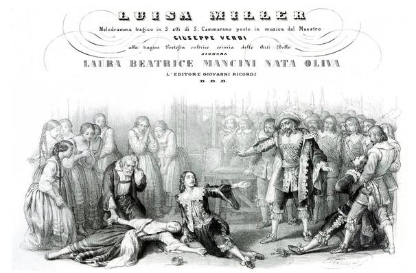 Lyric Opera of Chicago Luisa Miller, Civic Opera House, Chicago