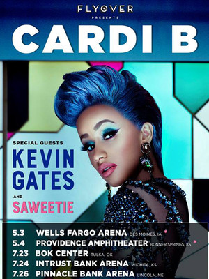 Cardi B at Bankers Life Fieldhouse