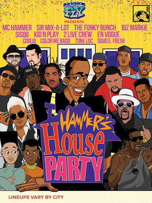 Hammers House Party Poster