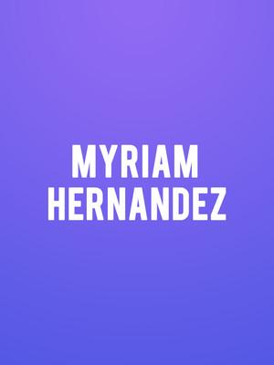 Myriam Hernandez Poster