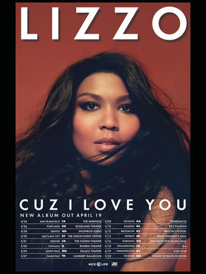 Lizzo at Ryman Auditorium