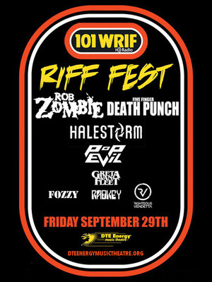 Riff Fest at DTE Energy Music Center