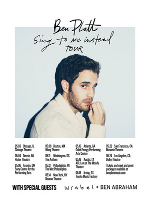 Ben Platt at Cobb Energy Performing Arts Centre