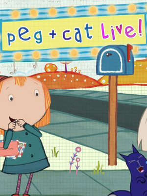 Peg and Cat, Hershey Theatre, Hershey