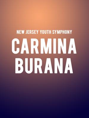 New Jersey Youth Symphony - Carmina Burana Poster