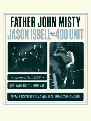 Father John Misty and Jason Isbell at Minneapolis Armory