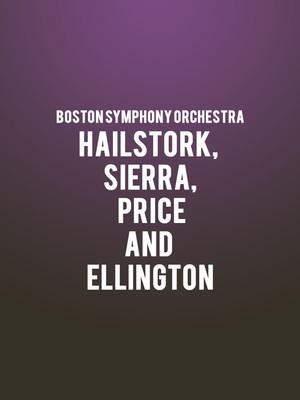 Boston Symphony Orchestra - Hailstork, Sierra, Price, and Ellington Poster