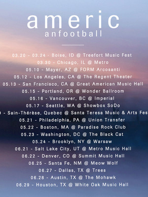 American Football at Metro Bar SLC