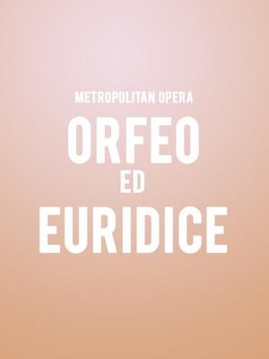 Metropolitan Opera - Orfeo ed Euridice at Metropolitan Opera House