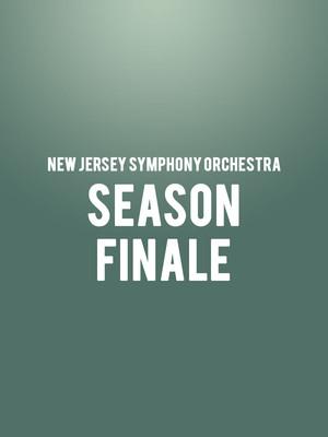 New Jersey Symphony Orchestra - Season Finale Poster