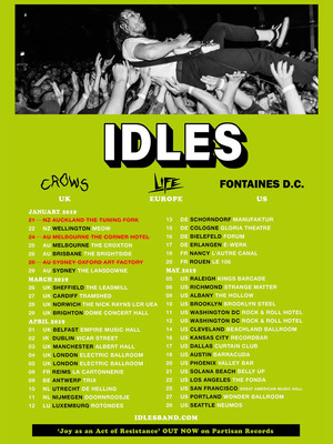 Idles at Union Transfer