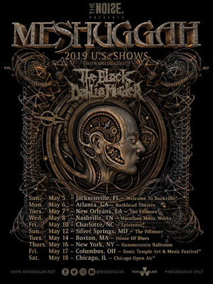 Meshuggah at Buckhead Theatre