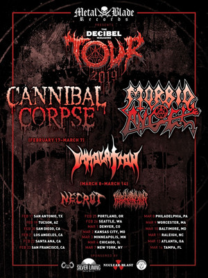 Cannibal Corpse at MacEwan Hall