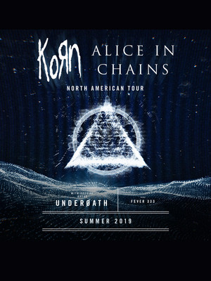 Korn and Alice in Chains at DTE Energy Music Center