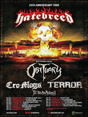 Hatebreed, Clyde Theatre, Fort Wayne