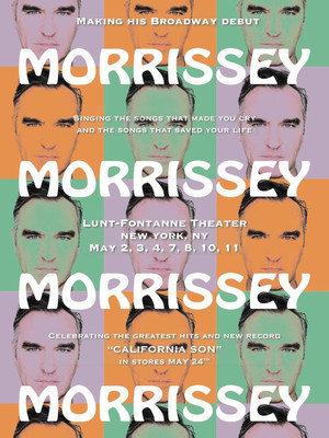 Morrissey at Lunt Fontanne Theater