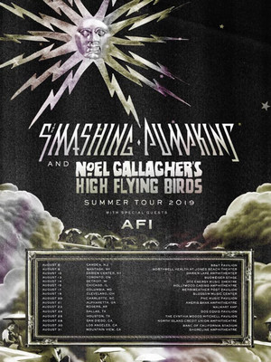 Smashing Pumpkins with Noel Gallagher, PNC Music Pavilion, Charlotte