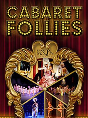 Erika Moon's Cabaret Follies Poster