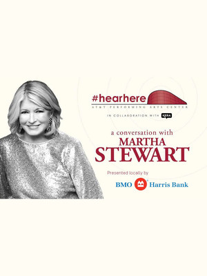 In Conversation with Martha Stewart Poster