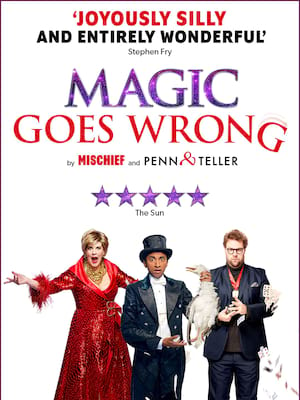 Magic Goes Wrong at Vaudeville Theatre