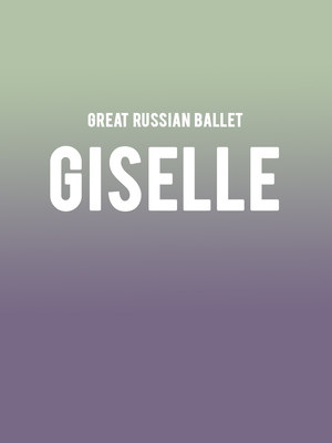 Great Russian Ballet - Giselle Poster