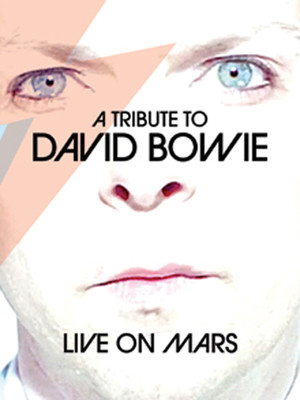 Live on Mars - David Bowie Tribute Poster