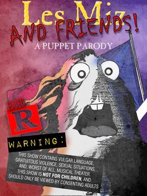 Lez Miz and Friends A Puppet Parody, Hudson Theater Mainstage, Los Angeles