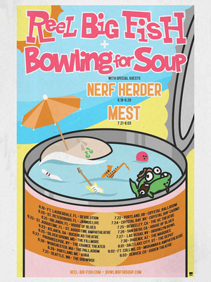 Bowling for Soup and Reel Big Fish Poster