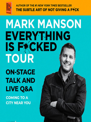 Mark Manson at Rio Theatre On Broadway