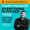 Mark Manson, House of Blues, Boston