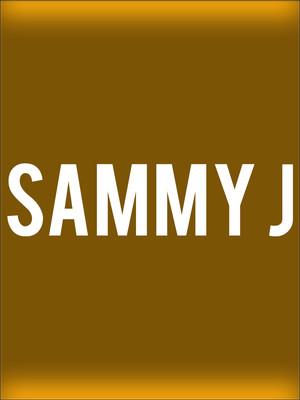 Sammy J Poster