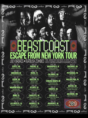 Beast Coast - Joey Badass with Flatbush Zombies at Freedom Hill Amphitheater